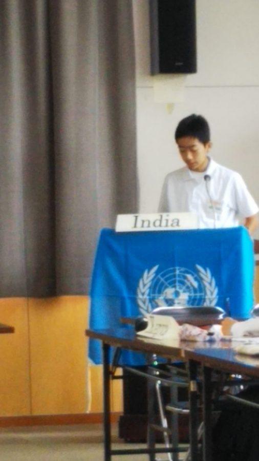 中学生模擬国連@関高校